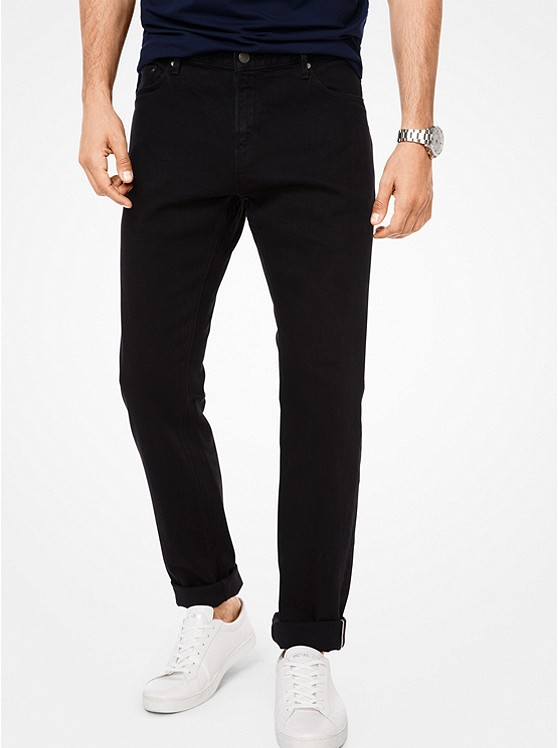 Parker Slim-Fit Stretch-Selvedge Jeans. Photo: Michael Kors Website
