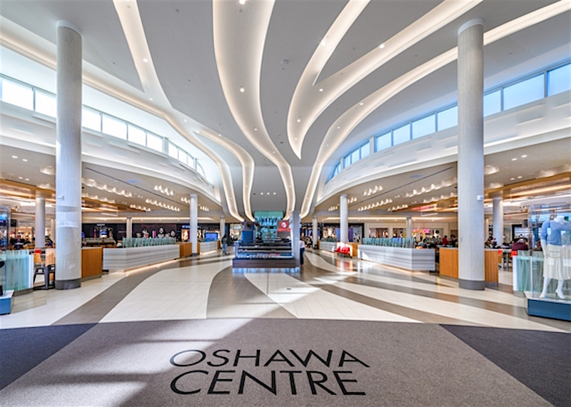 Oshawa Centre, east of Toronto. Photo: Ivanhoé Cambridge