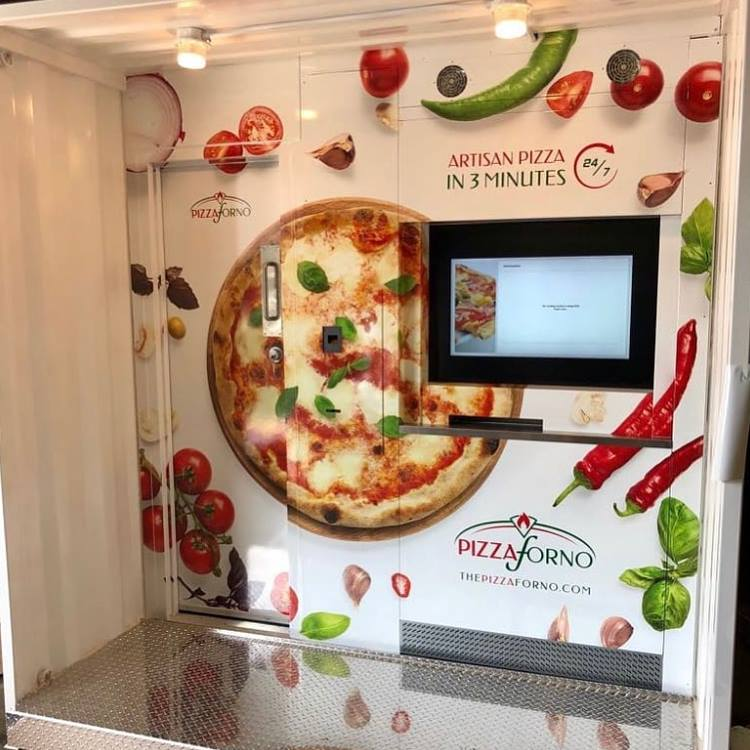 PHOTO: THE PIZZA FORNO FACEBOOK