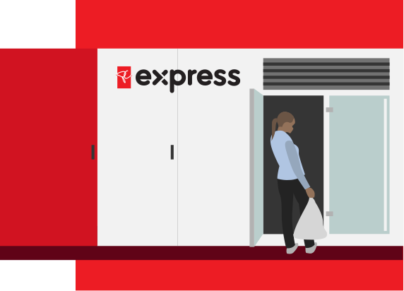 PC Express (Self-Serve Kiosks in-store)