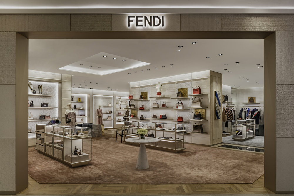 Fendi Opens Beautiful Mink Mile  World Of  Boutique  Photos Video  ca40415cdf14