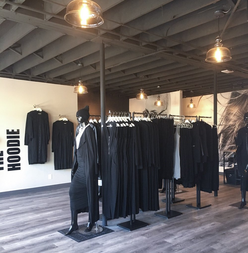 GROUND-FLOOR RETAIL SPACE HOUSING 'EMMYDEVEAUX' FASHION COLLECTION.