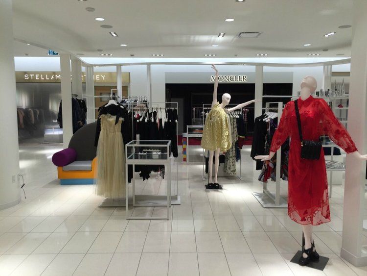 Inside nordstrom at CF Toronto eaton Centre. Note: The STella McCartney and Moncler boutiques are operated by Nordstrom and are not leased concessions. Photo: Devon Johnson