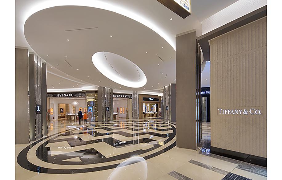 T Galleria in Macau. Photo: csparksco.com