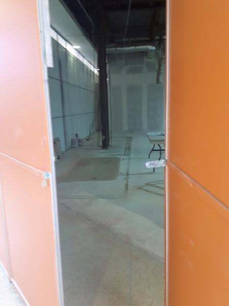 Inside the LV construction site. Photo: Christopher Lui
