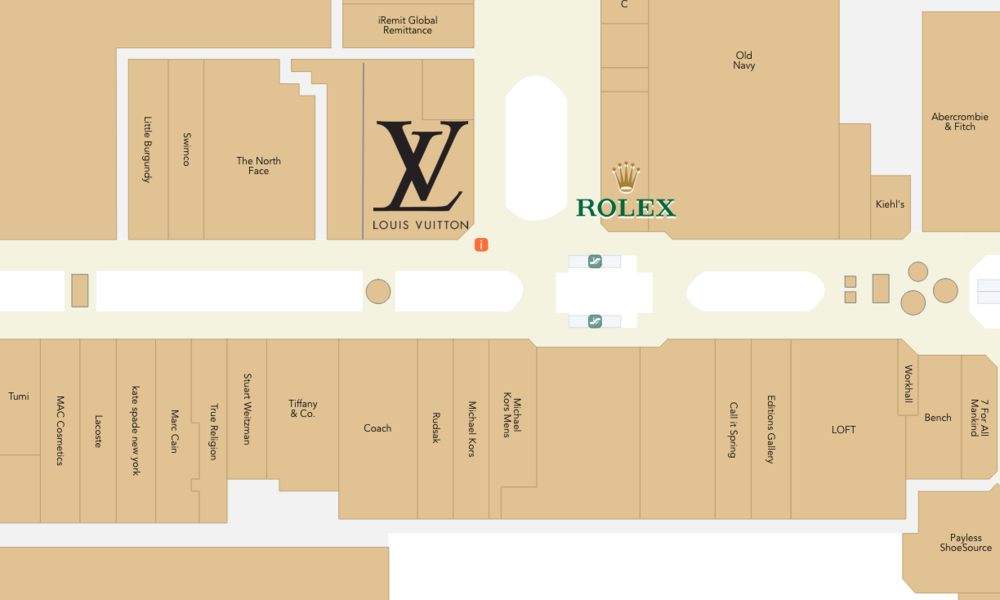 Click for Interactive Mall Map (West Edmonton Mall)