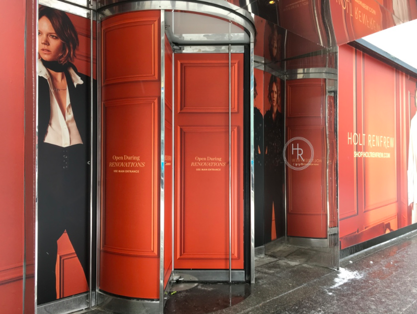 Holts has closed part of its ground floor for a full renovation that will be completed in a few months. Photo: Retail Insider