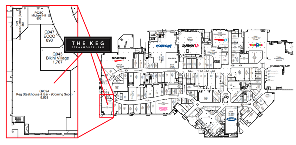 """click for interactive """"cf market mall"""" map"""