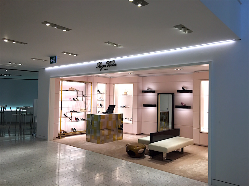 Roger Vivier Boutique. Photo: Retail Insider