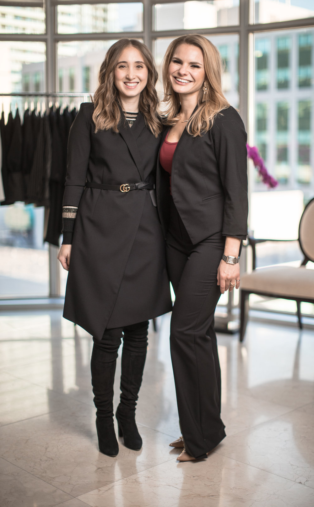 GRAYES FOUNDER STEPHANIE RAY(LEFT) AND MICHELE ROMANOW (RIGHT) PHOTO: VIA GRAYES