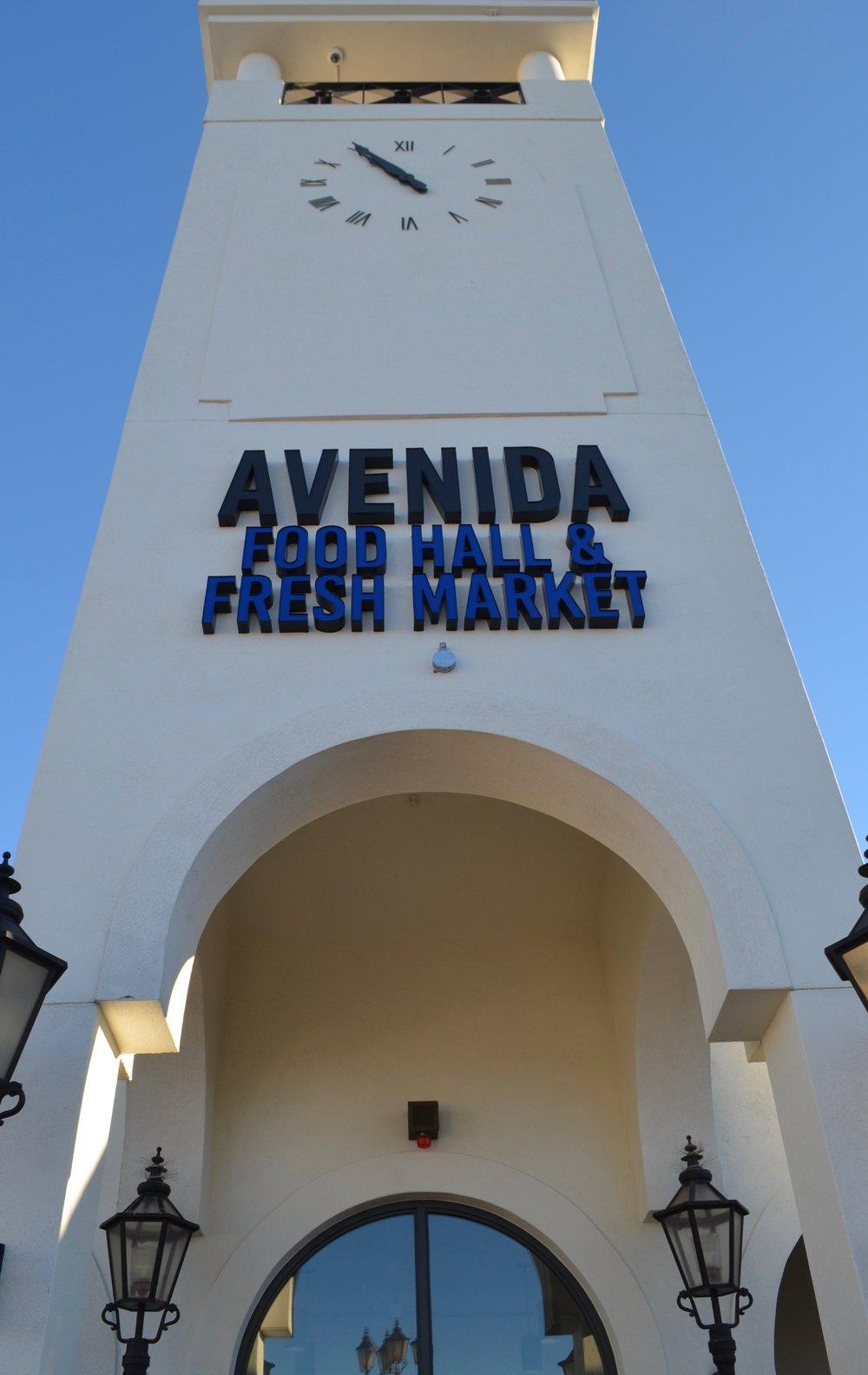 PHOTO: AVENIDA FOOD HALL