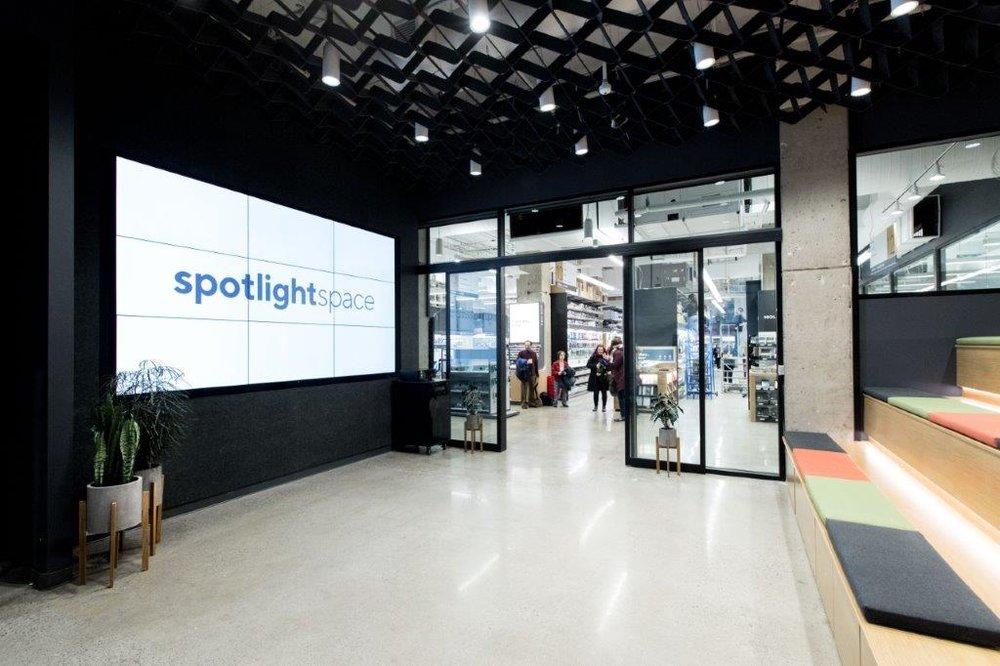 PHOTO: staples spotlight auditoriUM