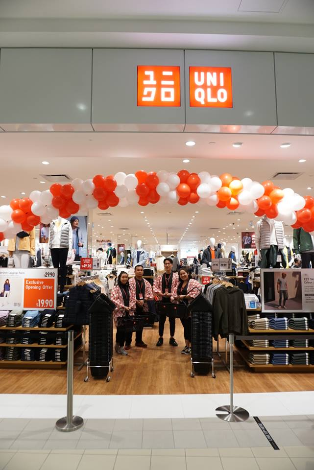 UNIQLO'S UPPER CANADA MALL STORE PHOTO VIA UNIQLO FACEBOOK