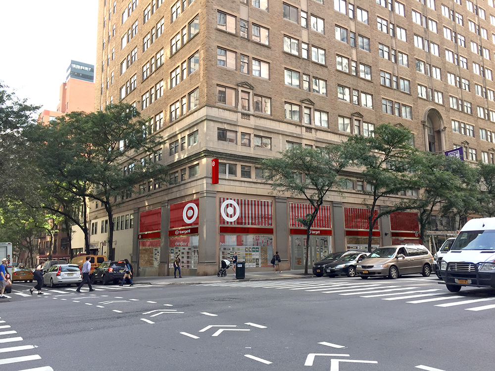 PROPOSED TARGET STORE FOR THE UPPER EAST SIDE OF NEW YORK CITY RENDERING: TARGET