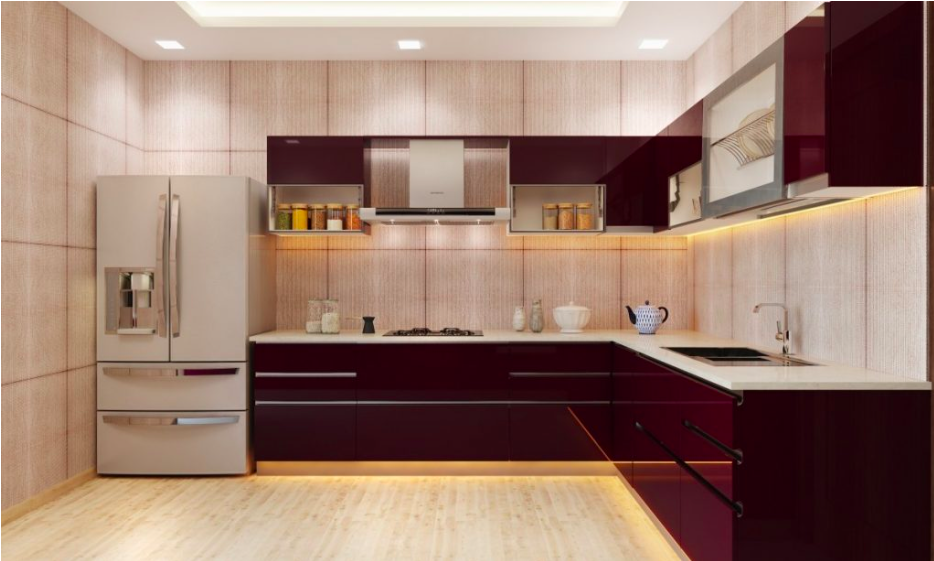 Spice Up Your Life With The Best Modular Kitchen Designs,Modern French Kitchen Design