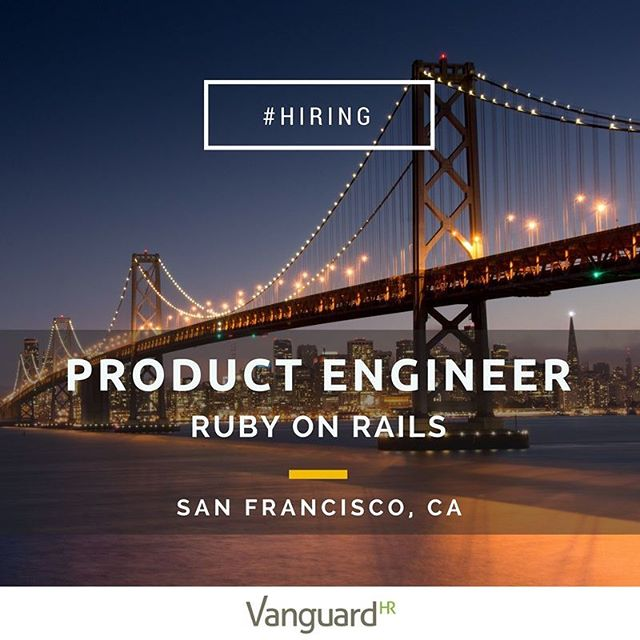 Wanna be part of something really big? The thought of working on the biggest API platform in the world excites you? We're working with a premier SF based company focused on empowering people to do more with the services they love (think Amazon Alexa, Google Home, Nest,...). We're searching far and wide for the best Ruby talent, if you're up to the task and even if you're not local we'll get you to San Francisco.  Sure, we'd love to see your resume (link in bio) but better yet, send us a DM and a link to your GitHub.#code #rubyonrails #Siliconvalley #software #softwareengineering #softwareengineer #iot #fullstack #GitHub #coder #developer #internetofthings