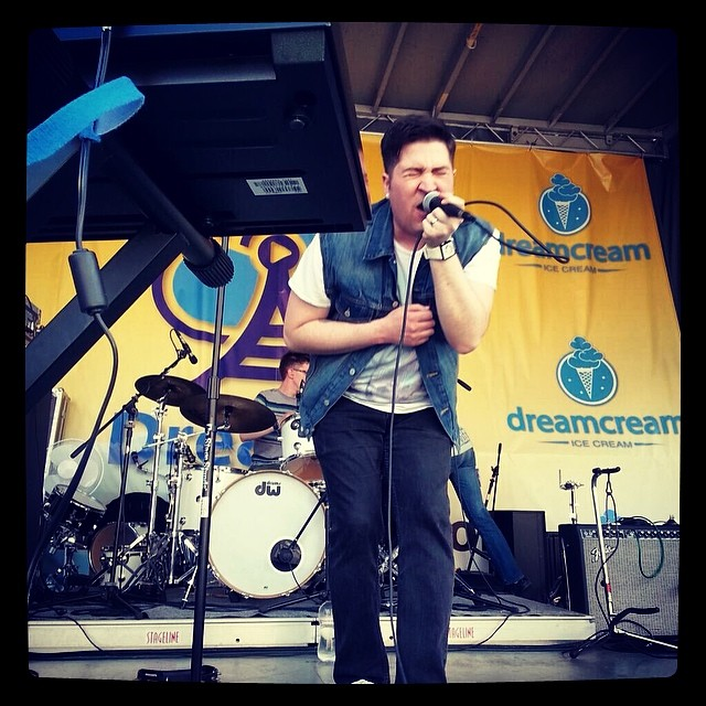 #FallingAndes killing it at #dreamonfest today. Thanks to #BalloonRideFantasy for the picture!
