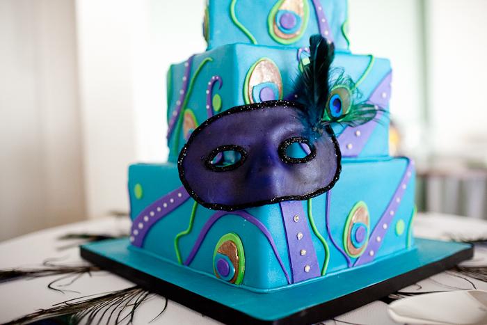 Mardi Gras Wedding Cake — City Girl Cakes :: Halifax & Dartmouth, NS ...