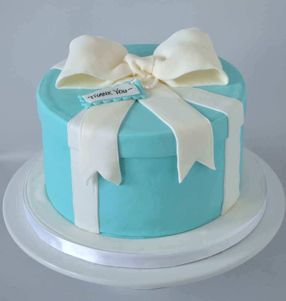 Tiffany Cake Topper