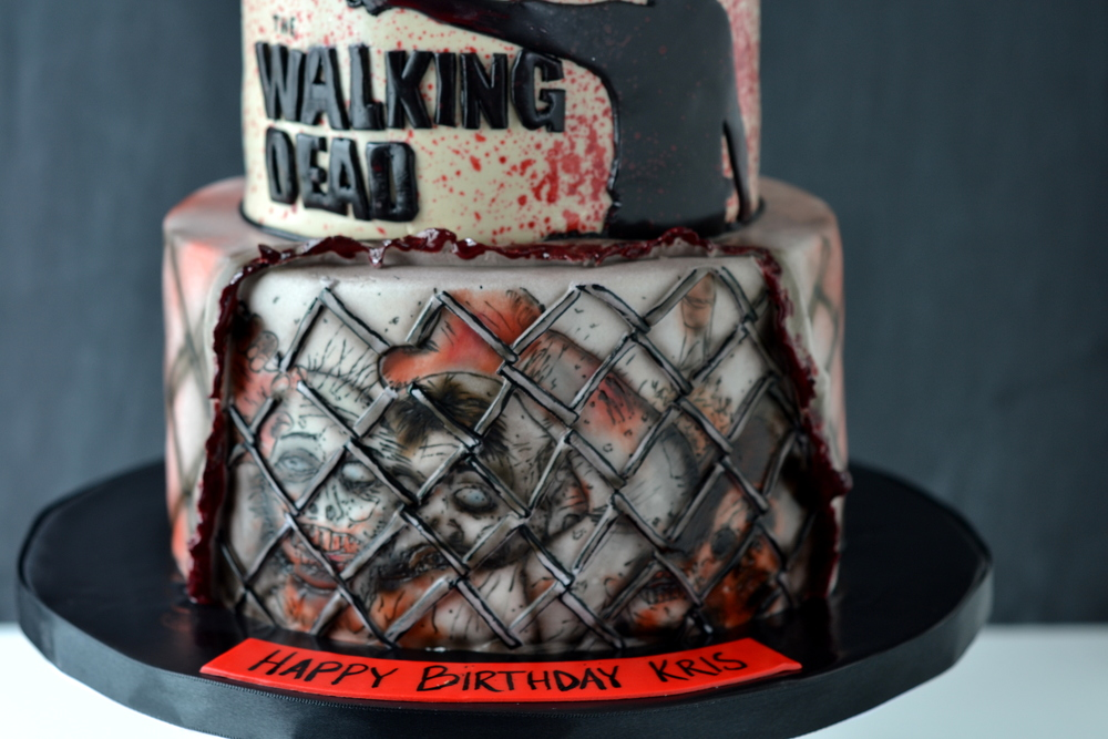 The Walking Dead City Girl Cakes Halifax Dartmouth Ns
