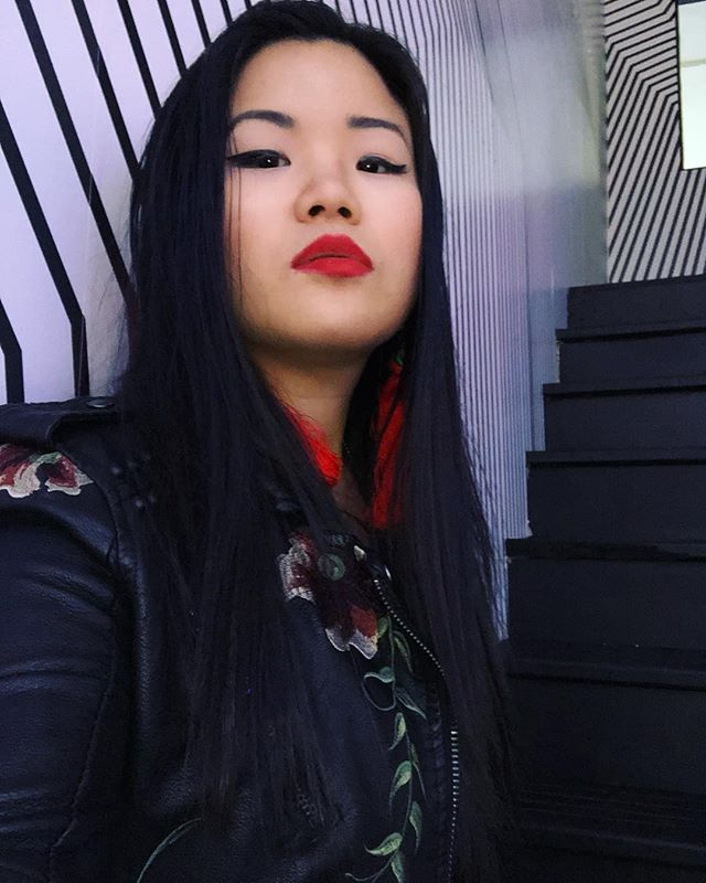 💋Funky staircases at @colorwerxnyc. More interviews with artists at @bybnyc showcase with me coming soon! . . . . . #singersongwriter #singer #dance #nyc #bybnyc #sxsw #colorwerx #livemusic #topliner #singer #music #trap #redlips #artist #rnb #indieartist #soundcloud #vocalist #performance #spotify #newmusic #radio #showcase #hiphop #eunicemusic #rap #love #indiemusic #asiangirls #art