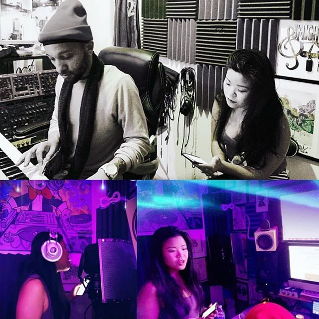 Cooking up a track with @thebeatdisciples . . . . #singer #love #music #artist #hiphop #art #pop #musician #newmusic #producer #songwriter #soundcloud #studiolife #beats #song #trap #recordingstudio #eunicemusic #recording #dj #indie #musicproducer #spotify #rnb #dj #beautiful #beatdeciples #youtube #singersongwriter #instamusic