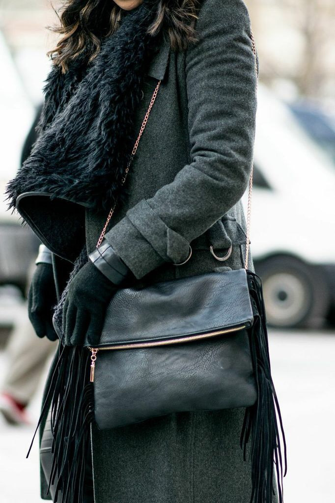 All about black and layers!