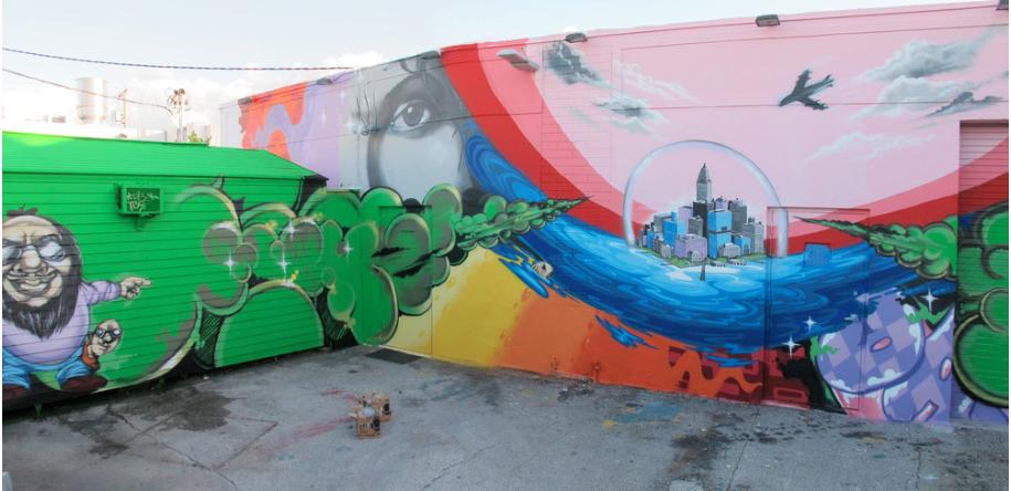Wynwood Walls, Miami, FL