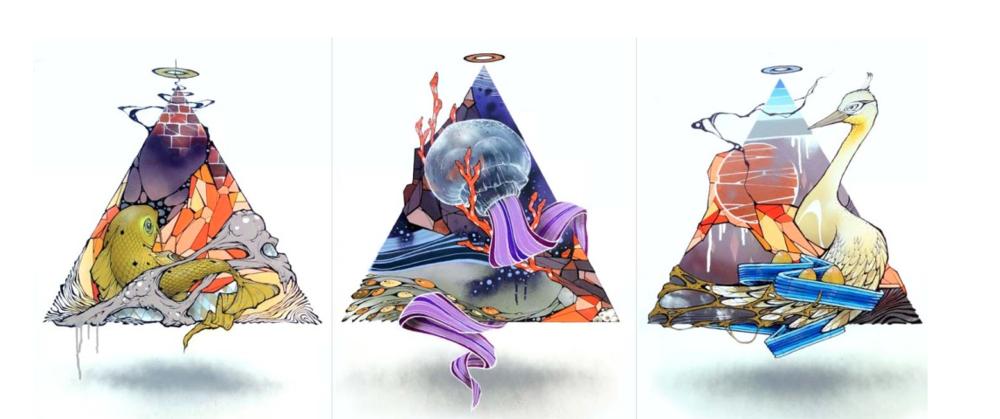 Triangle Triptych