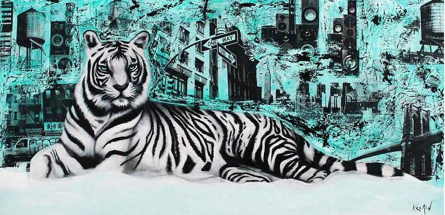 New York White Tiger
