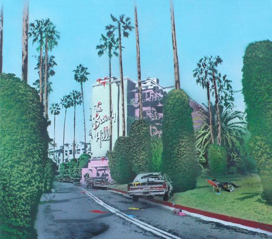 Vandal- Beverly Hills