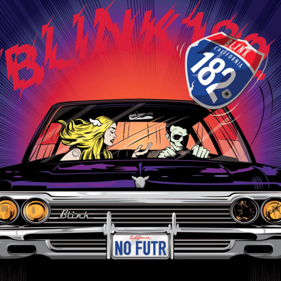 Blink 182 California Album Art