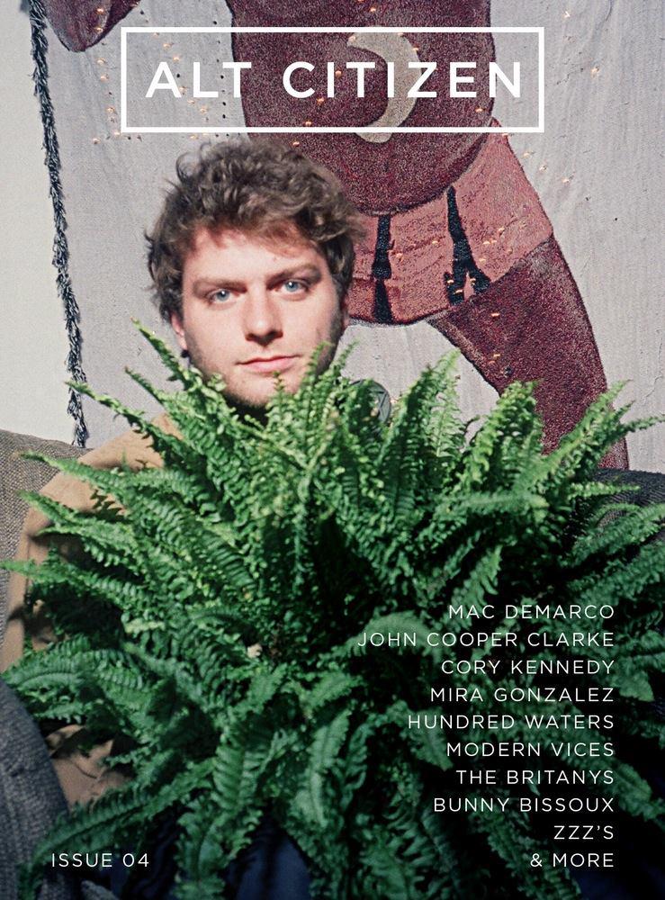Mac Demarco - - Alt Citizen Cover, Issue 4