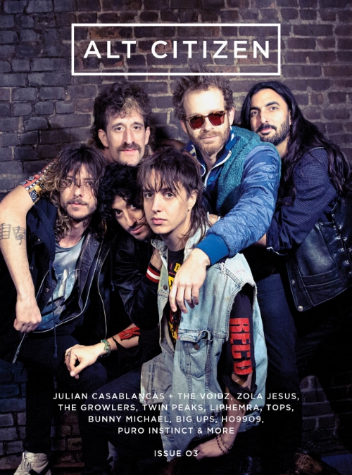 Photographed Cover Story with Julian Casablancas and the Voidz, Liphemra, The Growlers, Zola Jesus, Bunny Michael, Puro Instinct, HO99O9, and live performances from Miami Art Basel and LA.