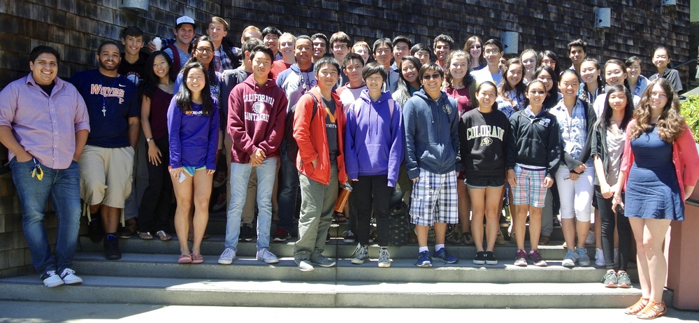 Debaters and coaches of the 2016 Master Class Program at UC Berkeley.