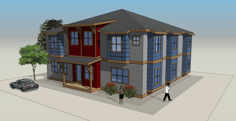 1012 27th St - Architectural Rendering
