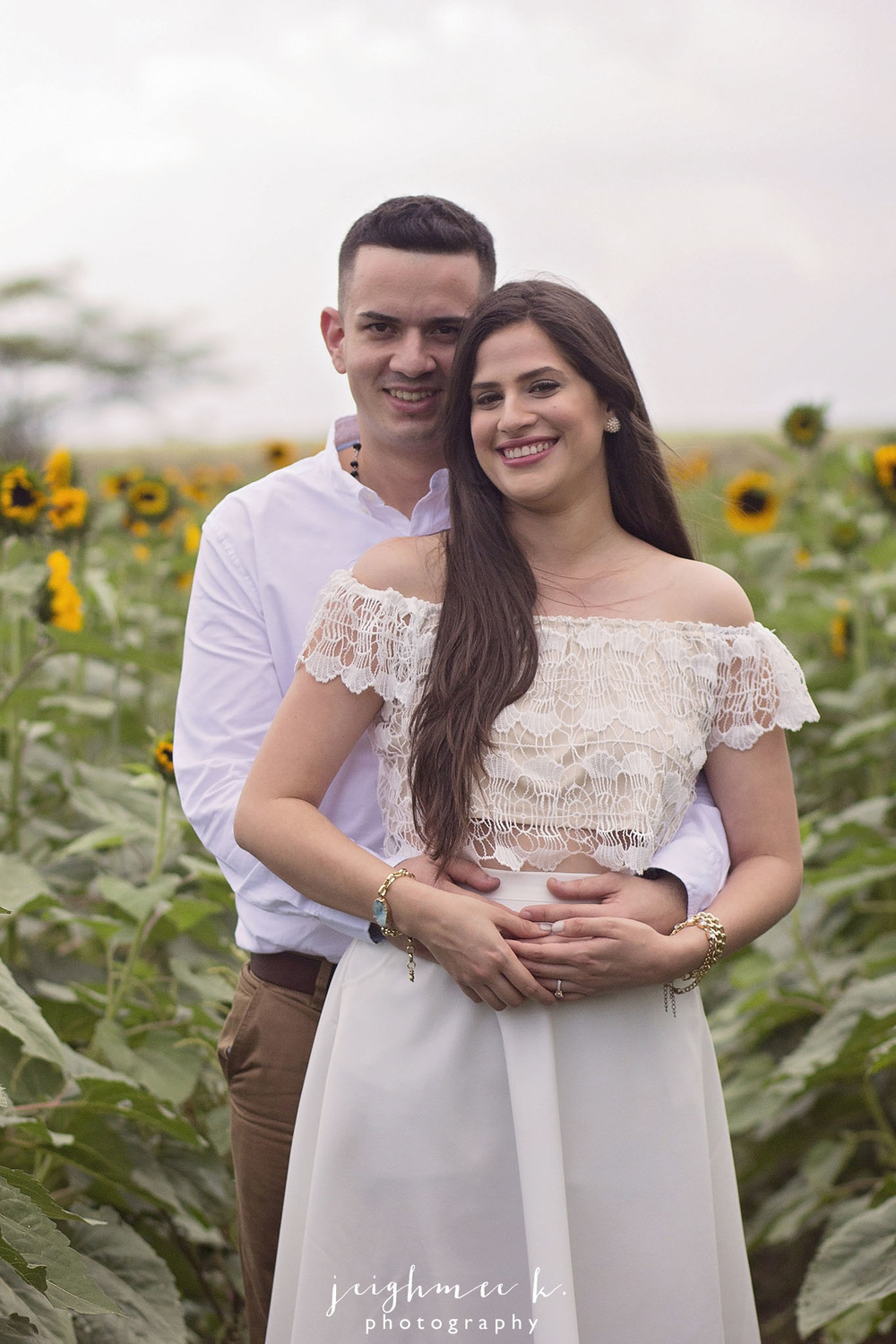 Sunflower Field Engagement Session 2.jpg