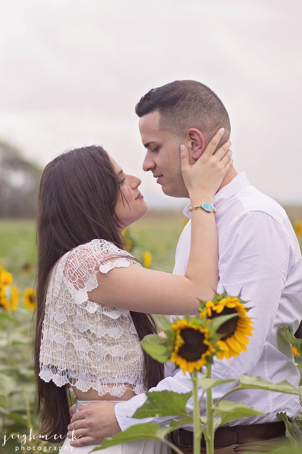 Sunflower Field Engagement Session 5.jpg