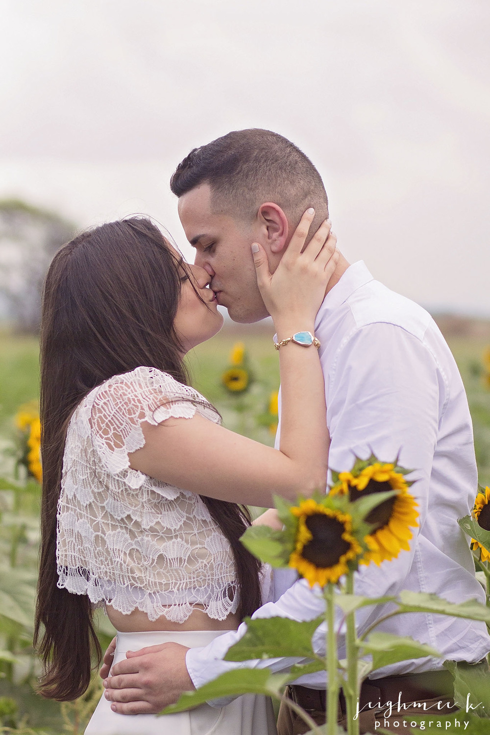 Sunflower Field Engagement Session 6.jpg