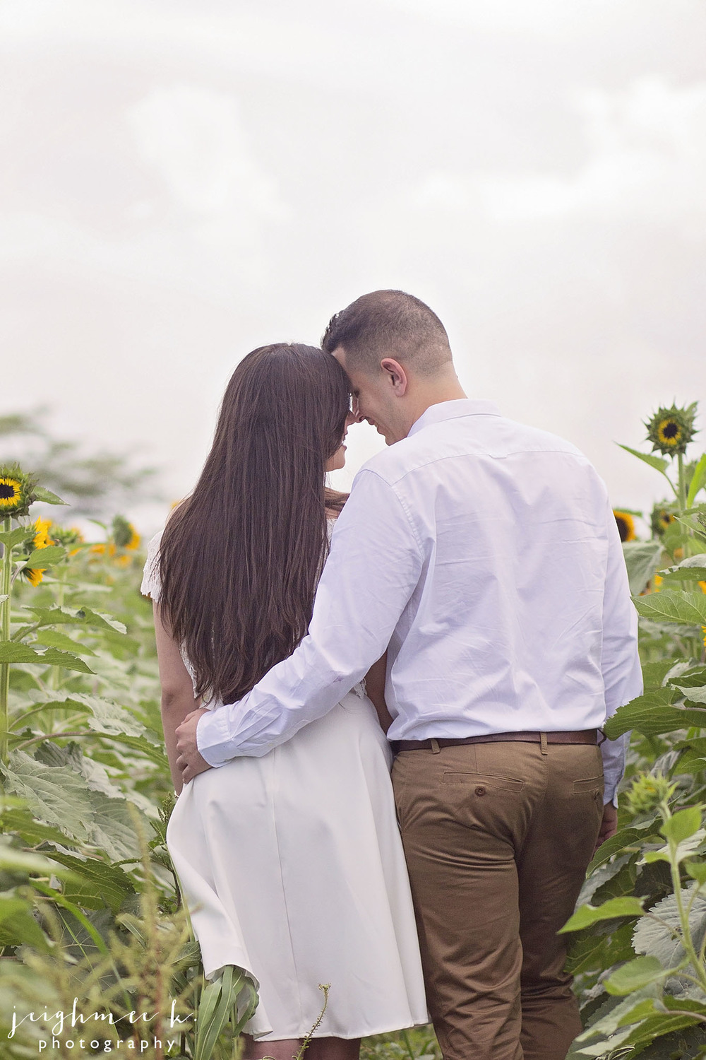 Sunflower Field Engagement Session 7.jpg