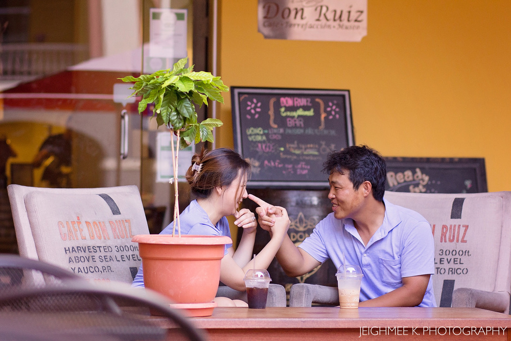 Don Ruiz Coffee Shop Ballajá Old San Juan Engagement Session