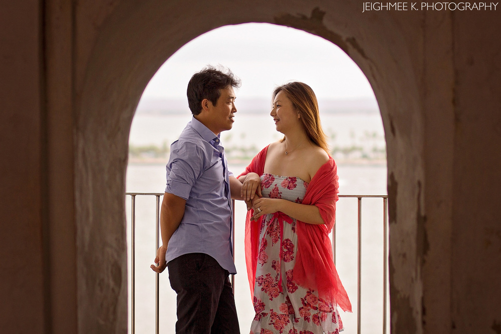El Morro Engagement Session Old San Juan