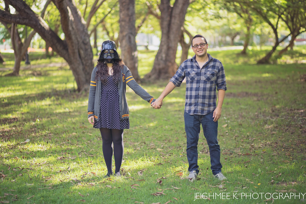 Star Wars Engagement Session San Juan Puerto Rico