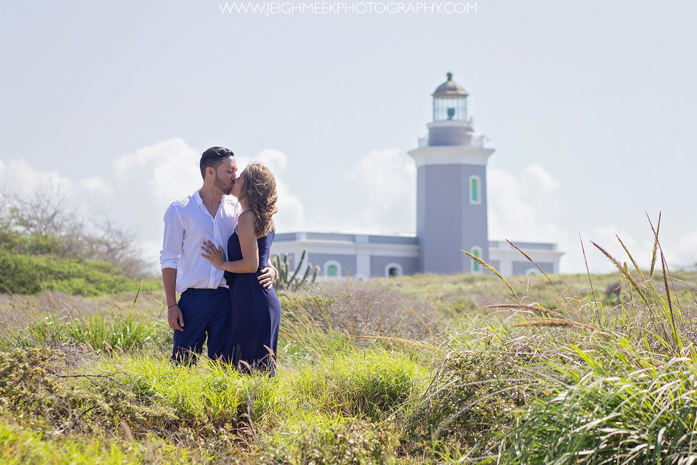 Cabo Rojo Lighthouse Surprise Engagement Session
