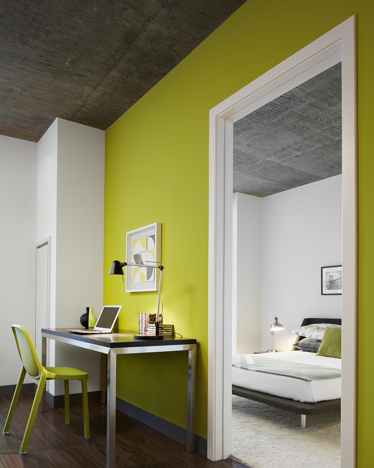 Stunning Salle De Bain Vert Lime Ideas - House Design - marcomilone.com
