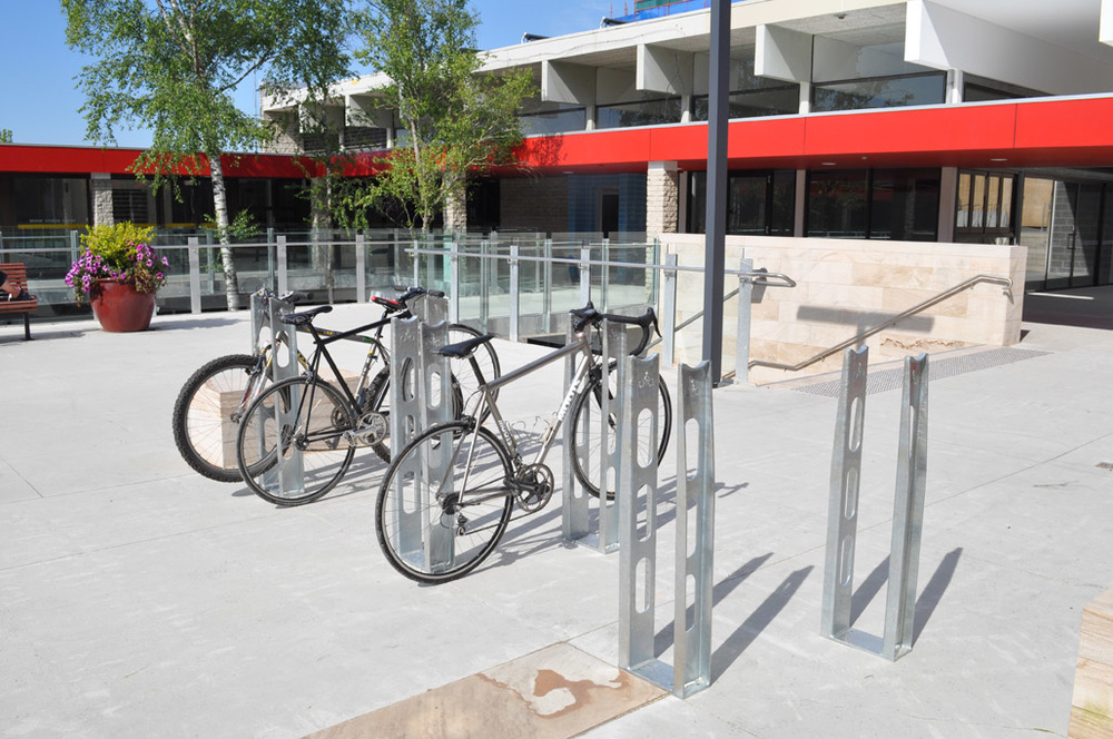 Graeme Roth - Pause Bicycle Parking