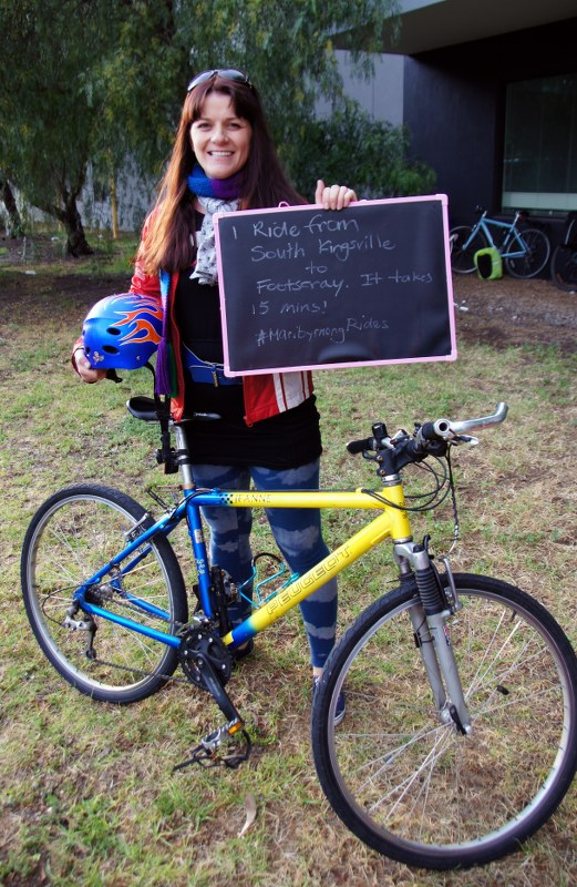 Westie Women on Wheels   Free bike program of women of Melbournes west