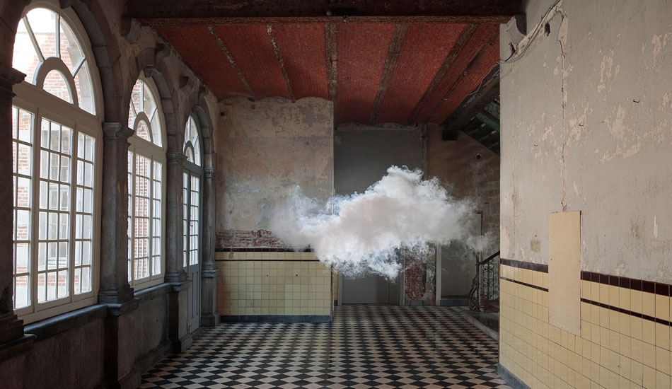 Berndnaut Smilde, Nimbus Dumont, 2014, Nature Revelation, The Ian Potter Museum of Art at The University of Melbourne