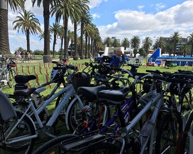 We will be down at both Catani Gardens & Luna Park tomorrow to make sure your bikes are safe while you enjoy @stkildafestival. So make sure you ride down, see you tomorrow with bells on 🔔 #rollup #stkilda #melbourne #lunapark #catanigardens