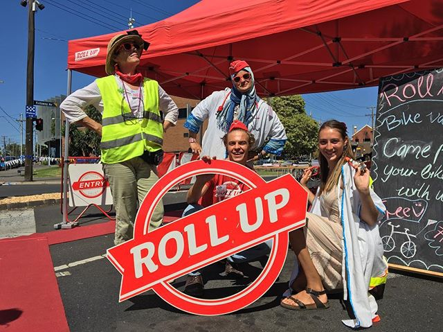 We are ready to rumble with the dream team Wheelie Workshop and Roll Up today! Our bike doctors on call will set you up with awesome bike decorations & funky gimmicks. Come get some wheelie therapy at no cost on this beautiful  Sunday! #mooneevalleyfestival  #bicycle #sundayfunday #sustainability @dysonbikes